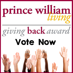 Giving Back Vote Now Web Ad copy