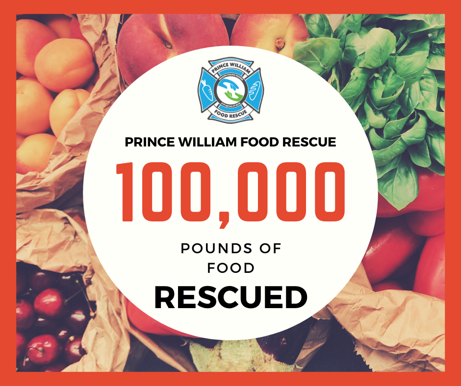 Milestone: 100,000 Pounds of Food Rescued!
