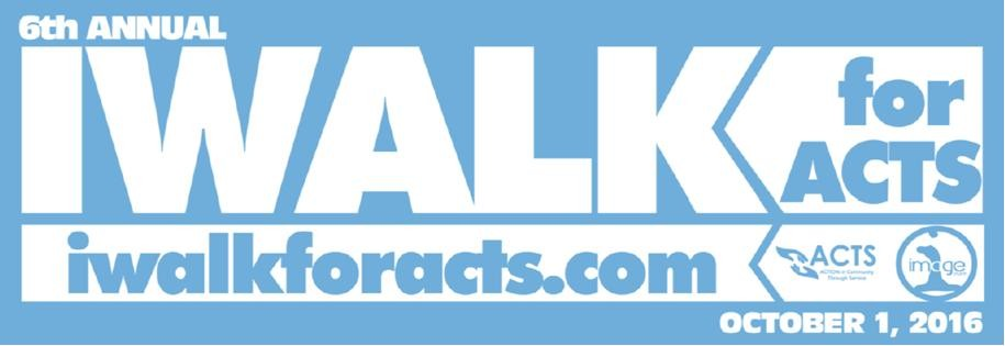 ACTS Off to a Running Start with its 6th Annual IWalk Sponsorship Campaign